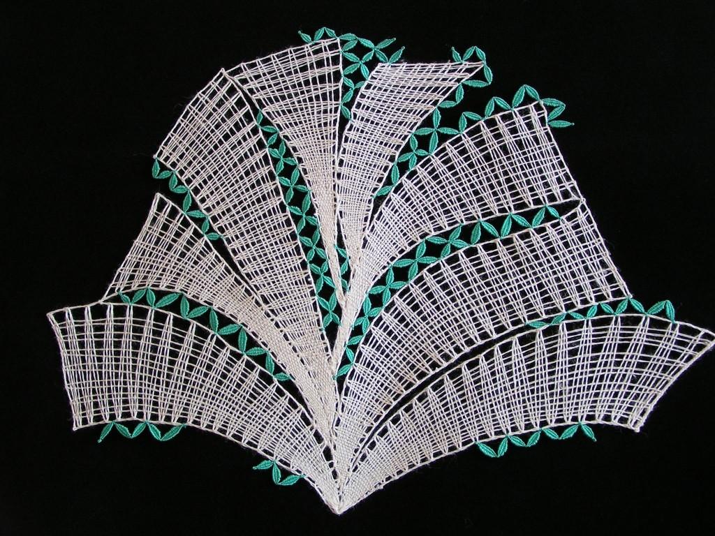 Fontána zelená(45 cm x  34 cm)