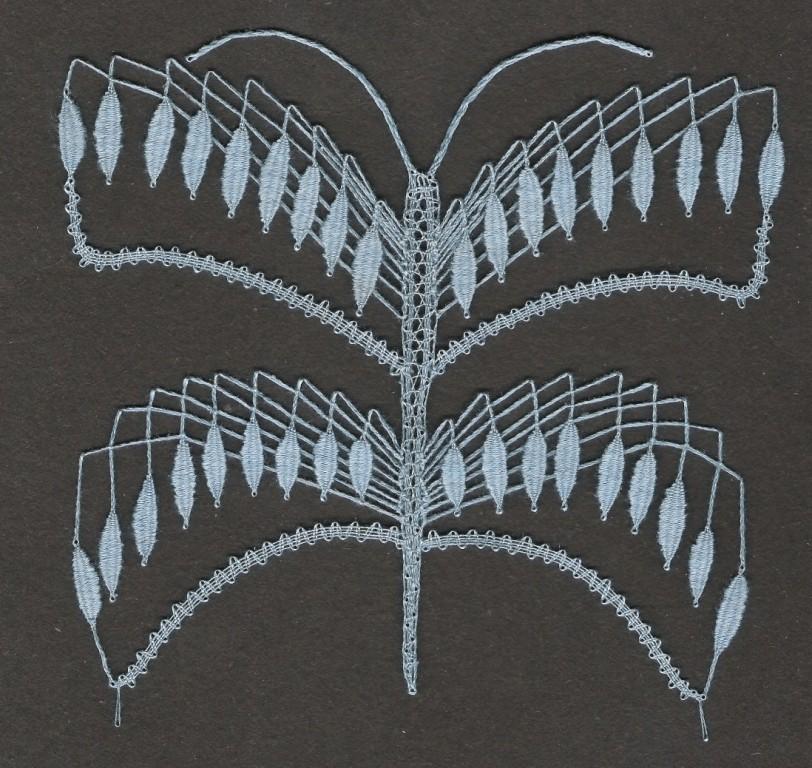 Motýl(13 cm x 14 cm)